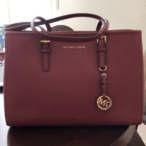 Michael Kors Brandy large Tote Leather Bag